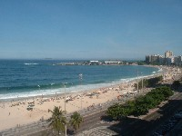 Copacabana Beach and Arpoador